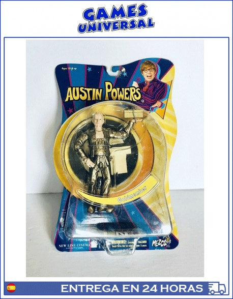 Austin Power Goldmember Mezco Figura
