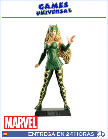 Enchantress Marvel plomo 10 cm