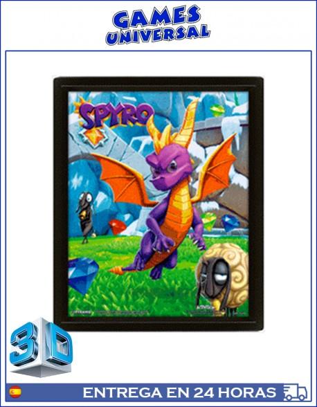 Spyro Cuadro en 3D