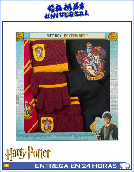 Uniforme Gryffindor Harry Potter caja regalo