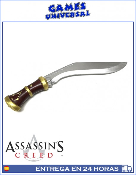 Cuchillo Kukri Assasins Creed espuma 49 cm