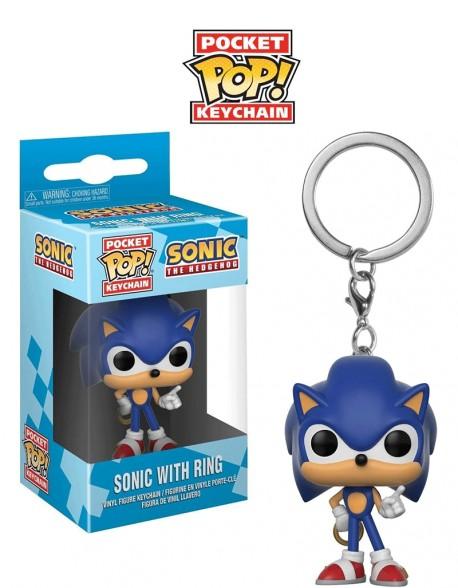 Pocket Pop Funko llavero Sonic