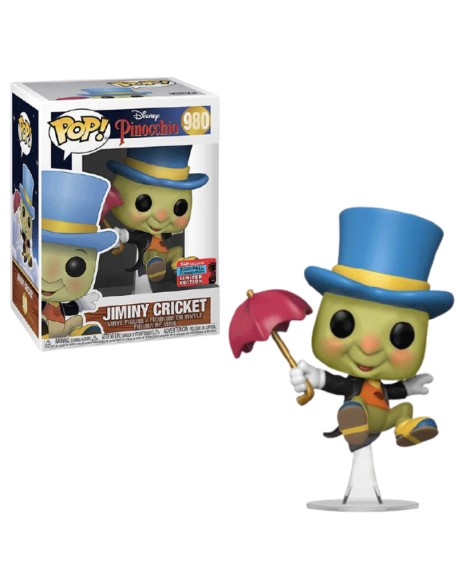 Funko Pop Jiminy Cricket Pinocchio Disney 980