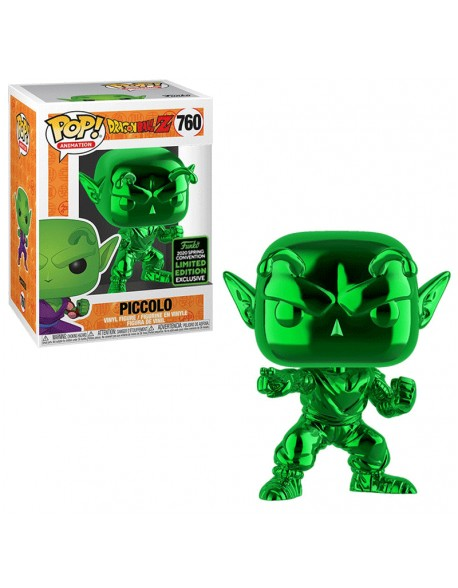 Funko Pop Piccolo Cromado Verde Dragon Ball Convention 2020