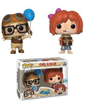 Funko Pop Carl y Ellie Limited Edition Pack Disney Up