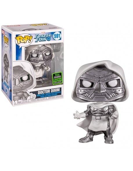 Funko Pop Doctor Doom  591 Exclusive Convention 2020