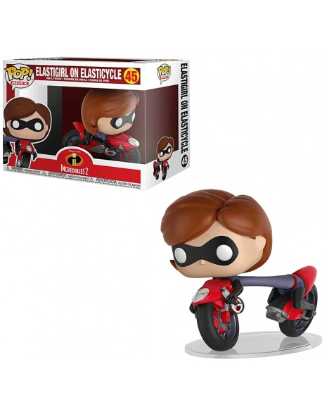 Funko Pop Elastigirl On Elasticycle Disney 45