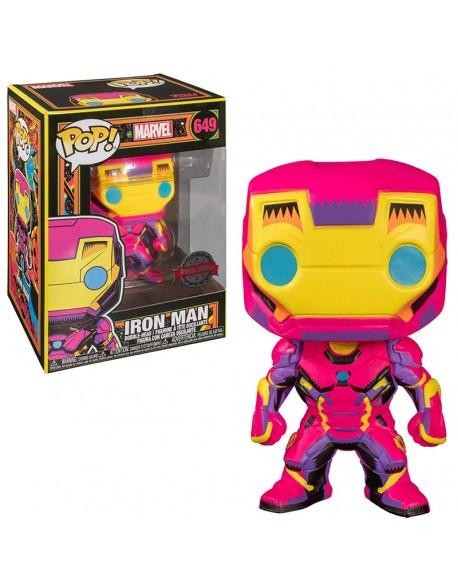 Funko Pop Iron Man Black Light Special Edition