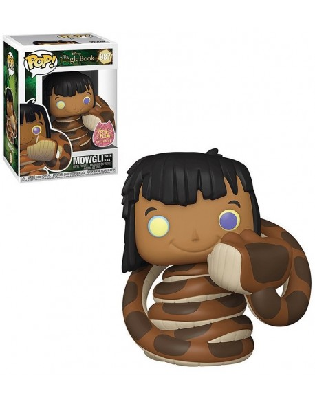 Funko Pop Mowgli With Kaa Exclusive