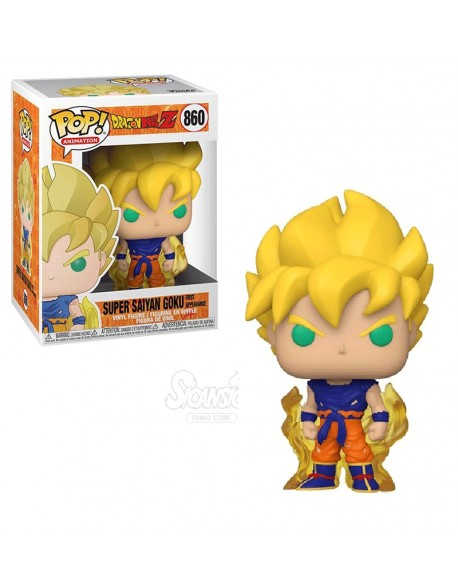 Funko Pop Super Saiyan Goku Dragon Ball Z 860