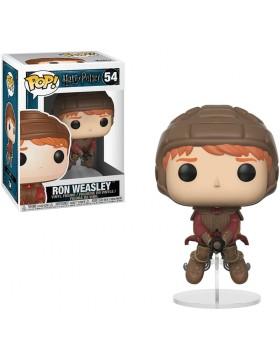 Funko Pop Ron Weasley Escoba Harry Potter 54