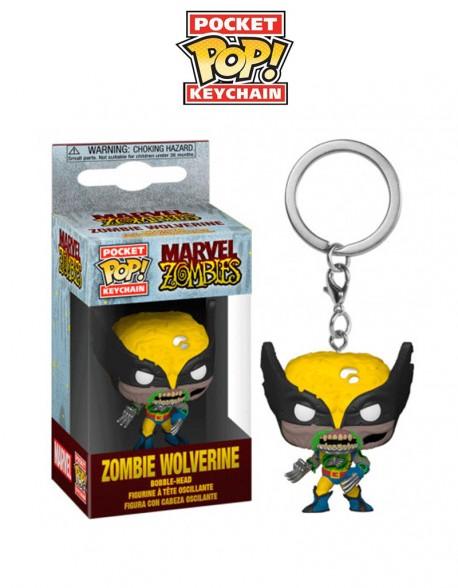 Pocket Pop llavero Zombie Wolverine Funko