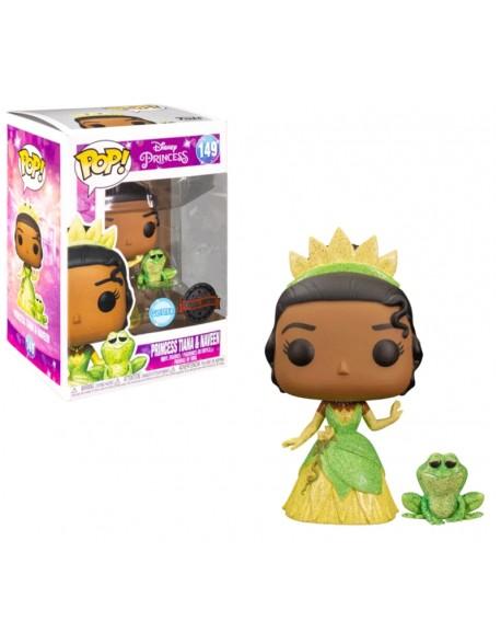 Funko Pop Princess Tiana Y Naveen Disney Glitter Special Edition