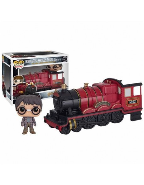 Funko Pop Hogwarts Express Engine With Harry Potter 20