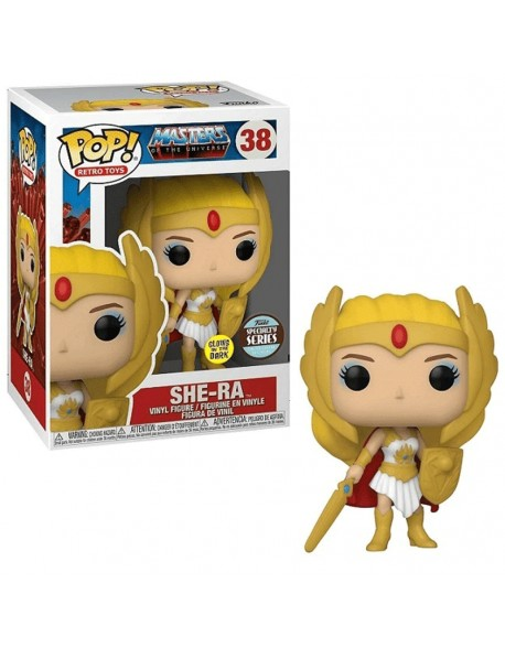 Funko Pop She Ra Masters Of The Universe 38 Glows Specialty Series 38