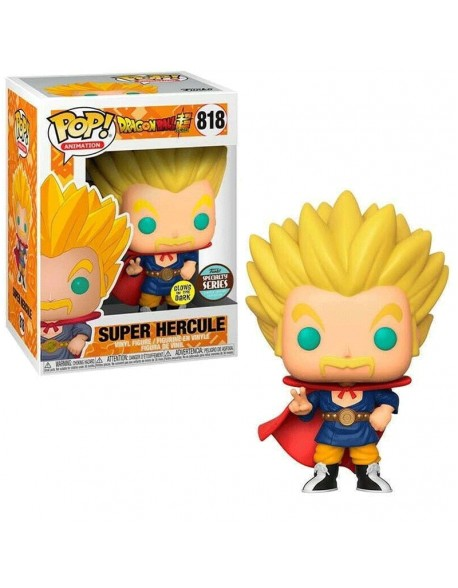 Funko Super Hercule Glows Specialty Series Dragon Ball 818