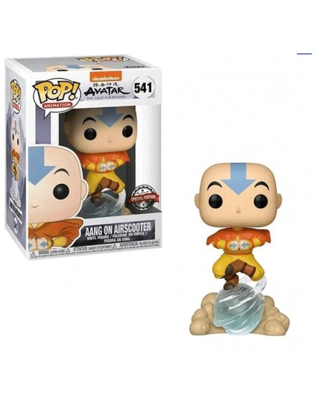 Funko Pop Avatar Aang On Airscooter Special Edition 514