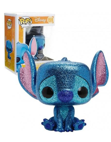 Funko Pop Stitch Seated Lilo and Stitch Disney Diamond Glitter