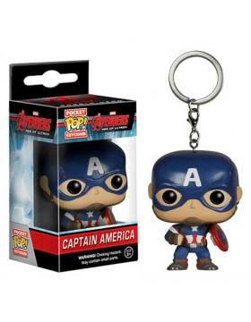 Pocket Pop llavero Capitan America Superheroe