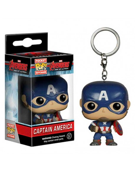 Pocket Pop llavero Capitan America Marvel
