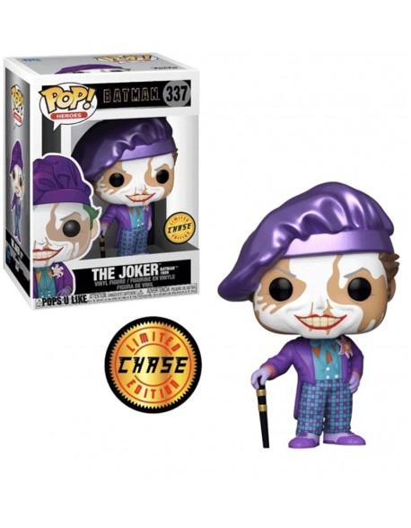 Funko Pop Joker With Hat Comics Batman 1989 Limited Chase