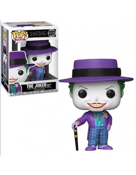 Funko Pop Joker With Hat Comics Batman 1989