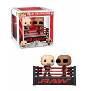Funko Pop The Rock VS Stone Cold In Wrestling Ring Moment