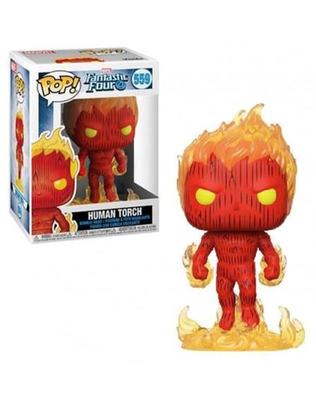 Funko Pop Human Torch Fantastic Four 559