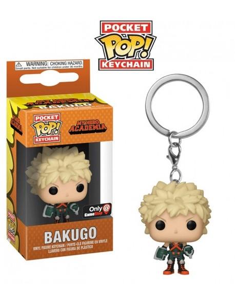 Pocket Pop Bakugo My Hero Academia Llavero Funko Only GameStop