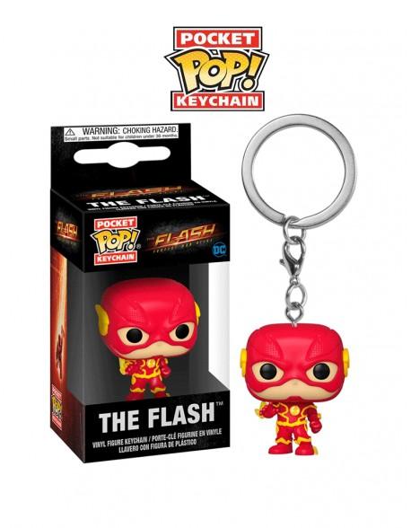 Pocket Pop The Flash llavero Funko