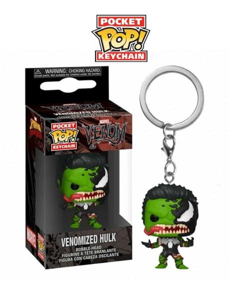 Pocket Pop Venomized Hulk llavero Funko