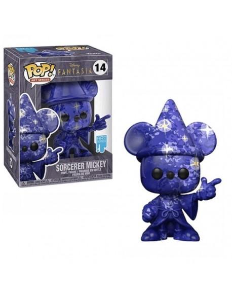 Funko Pop Sorcerer Mickey Disney Fantasia ART Series 14
