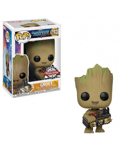 Funko Pop Groot Guardians Of The Galaxy Special Edition 263