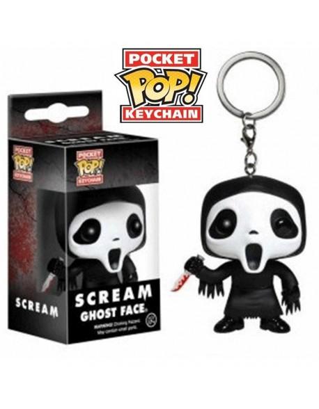 Pocket Pop Scream Ghost face llavero Funko