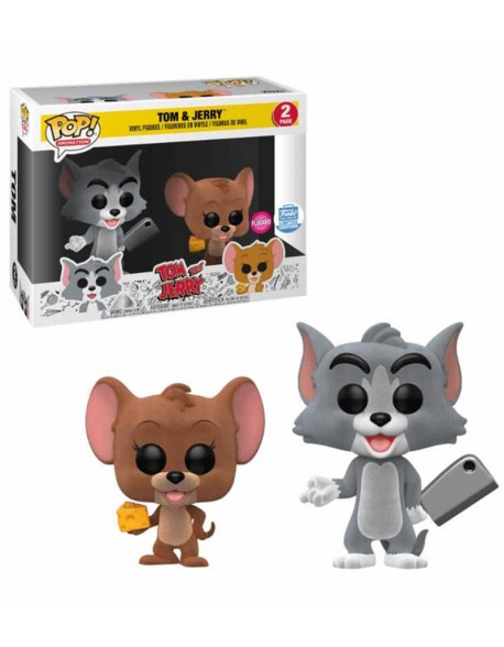 Funko Pop Tom And Jerry Flocked Limited Edition