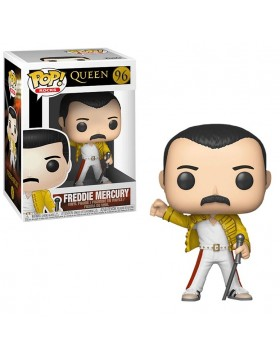 Pop Funko Queen Freddie Mercury Wembley 1986
