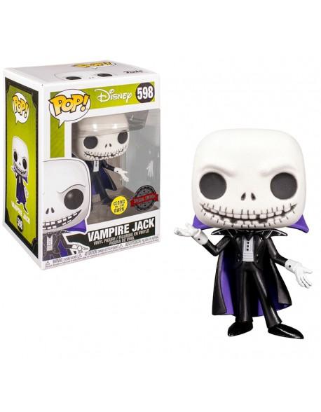 Funko Pop Vampire Jack Glows Disney Special Edition 598