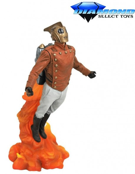 The Rocketeer Diorama Gallery 25 cm