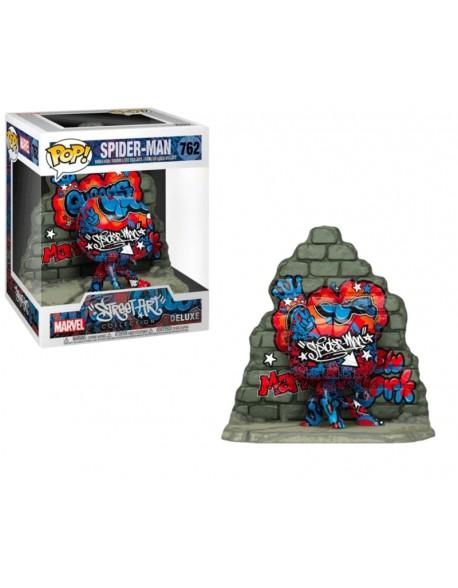 Funko Pop Spider Man Street Art Collection Special Edition