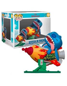Funko Pop Stitch In Rocket Disney Lilo Y Stitch 102
