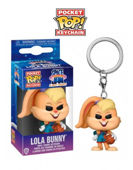 Pocket Pop Lola Bunny Space Jam Llavero Funko