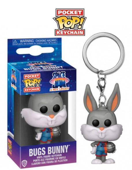 Pocket Pop Bugs Bunny Space Jam Llavero Funko