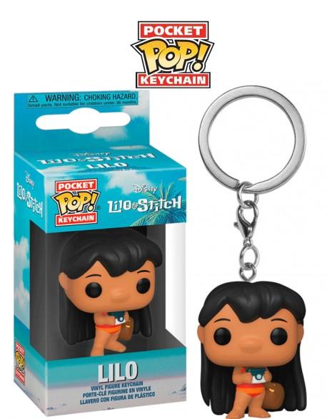 Pocket Pop Lilo Disney Lilo y Stitch Llavero Funko