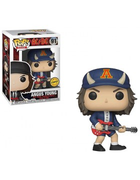Funko Pop Angus Young AC DC Limited Chase 91