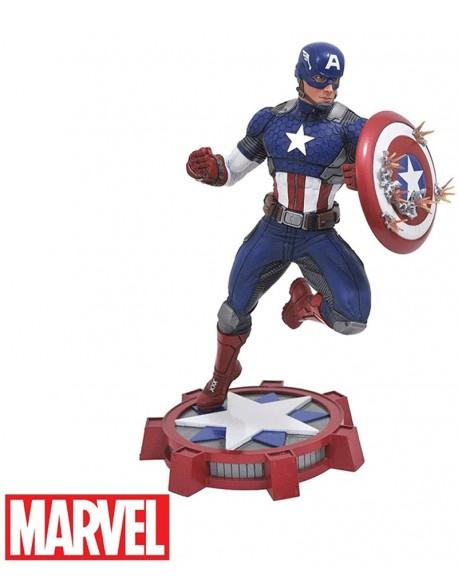 Capitan America Diorama Marvel Gallery 23 cm
