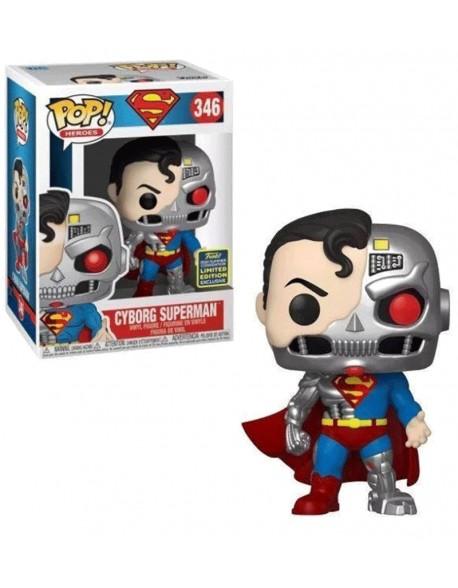 Funko Pop Superman Cyborg Summer Convention 346