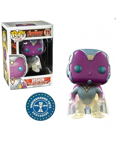 Funko pop Vision Avengers Age Of Ultron Exclusive Underground Toys