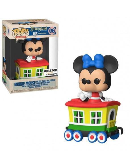 Funko Pop Minnie Mouse Train Disneyland 06