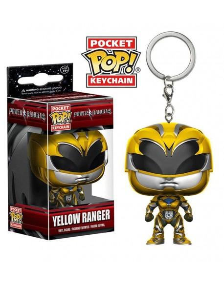 Pocket Pop Llavero Power Rangers Yellow Ranger Funko