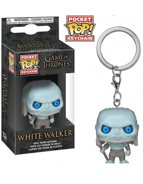 Pocket Pop Game Of Thrones White Walker Llavero Funko